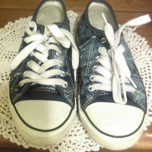 50% off! Denim shoes